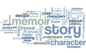 Novel Memoir Series Word Cloud