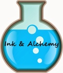 IA logo blue flask